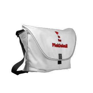 p is for pickleball red black.png courier bags