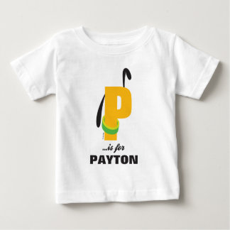 P is for Pluto | Add Your Name Baby T-Shirt