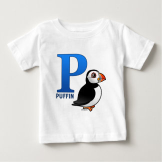 P is for Puffin Baby T-Shirt