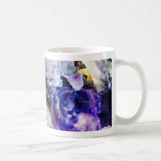 P is for Purple alphabet art mug