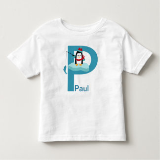 P is For Toddler T-shirt