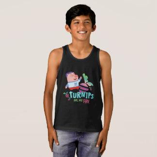 P. King Duckling  - Chumpkins graphic tank top