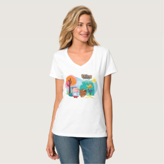 P. King Duckling  - Three character graphic tee