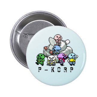 P-KORP Mother  Button