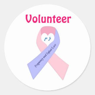 P&L1, Volunteer Round Sticker