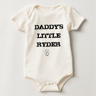 P. Leone Daddy's Little Ryder Onesy Baby Bodysuit