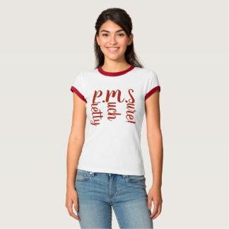 p.m.s. tshirt