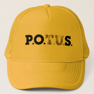 P.P.O.S. Golden Shower Trucker Hat