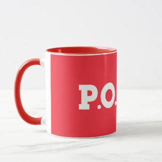 P.P.O.S. Red Alert Mug