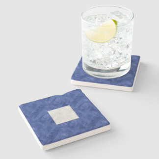 P Papa Watercolor Nautical Signal Maritime Flag Stone Coaster