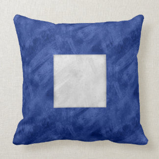 P Papa Watercolor Nautical Signal Maritime Flag Throw Pillow
