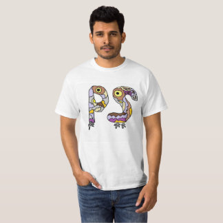 P & S  funny letters T-shirt