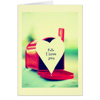 P.s I love you Card