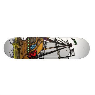P.S. Spice Trader Mobber Skate Board Deck