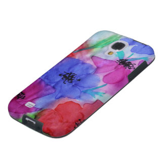 ©  P Wherrell Beautiful Fine Art painting anemones Galaxy S4 Case