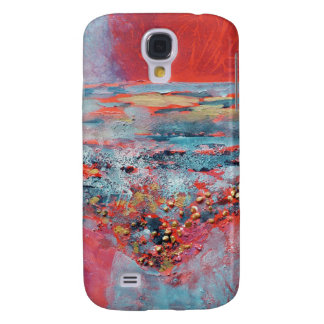 © P Wherrell Contemporary fine art abstract Galaxy S4 Cases