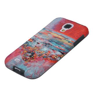 © P Wherrell Contemporary fine art abstract Galaxy S4 Case