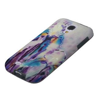 © P Wherrell Contemporary fine art irises Galaxy S4 Case