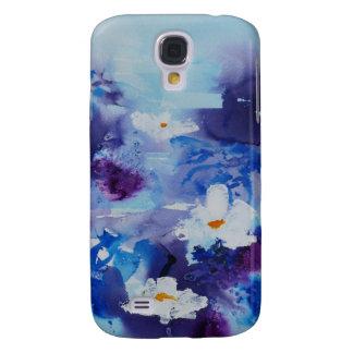 © P Wherrell Contemporary fine art waterlilies Galaxy S4 Case