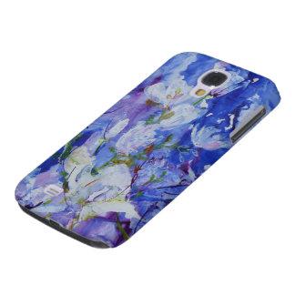 © P Wherrell Contemporary magnolia fine art Samsung Galaxy S4 Covers