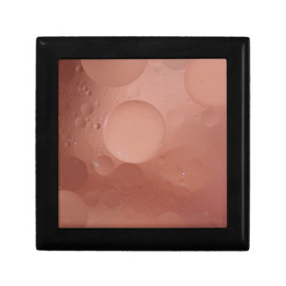 © P Wherrell Contemporary salmon circles abstract Gift Box