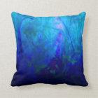 © P Wherrell Summer Dreams impressionist landscape Throw Pillow