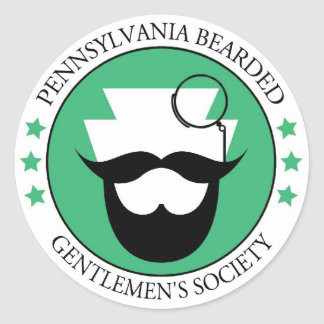 PA Bearded Gentlmen's Sticker