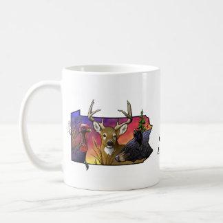 PA Big Game Animals Coffee Mug