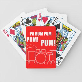 Pa Rum Pum Pum Pum Bicycle Playing Cards