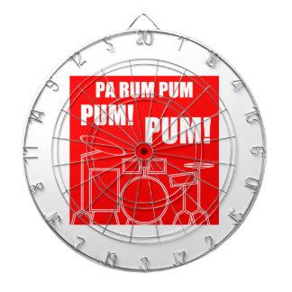 Pa Rum Pum Pum Pum Dartboard