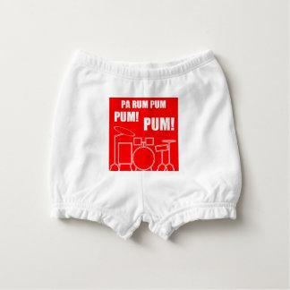 Pa Rum Pum Pum Pum Diaper Cover