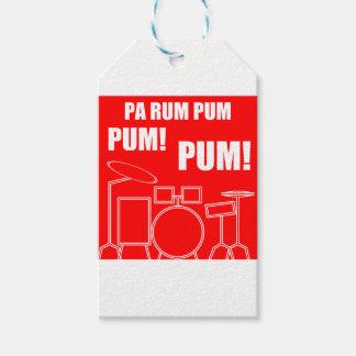Pa Rum Pum Pum Pum Gift Tags