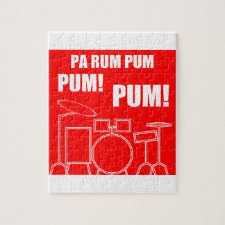 Pa Rum Pum Pum Pum Jigsaw Puzzle