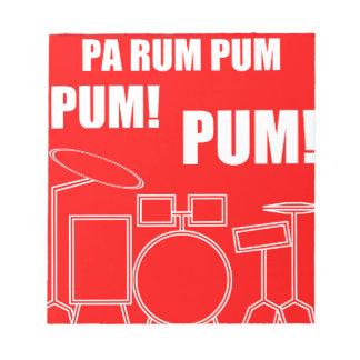 Pa Rum Pum Pum Pum Notepad