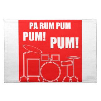 Pa Rum Pum Pum Pum Placemat