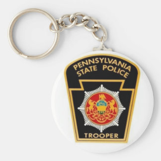 PA STATE POLICE key chain