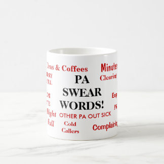PA Swear Words! - Funny Personal Assistant Mug