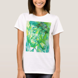 pablo neruda -watercolor portrait.4 T-Shirt