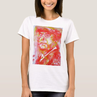pablo neruda -watercolor portrait.5 T-Shirt