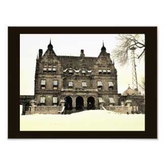 Pabst Mansion in Winter Photo Print