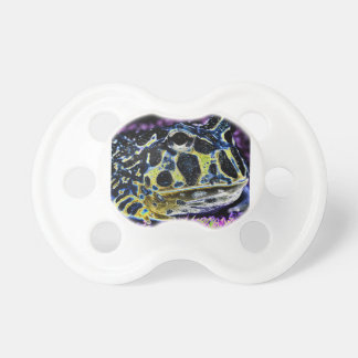 Pac Man Frog Baby Pacifier