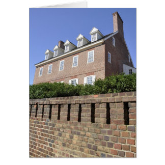 Paca House in Annapolis, Maryland Card