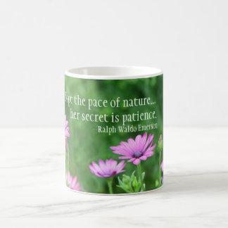 Pace of Nature Ralph Waldo Emerson Coffee Mug