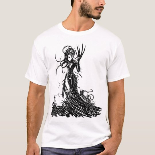 Paced Heart Dark Angie Front T-Shirt