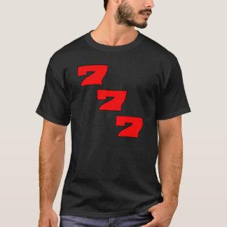 Pachi Pachinko symbol 777 shirt