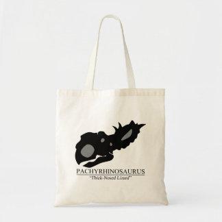 Pachyrhinosaurus Skull Tote Bag