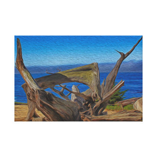 Pacific bay canvas print