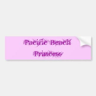 Pacific Beach Princess Bumper Sticker