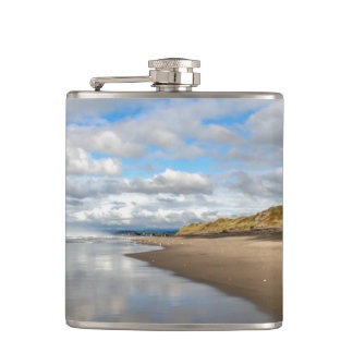 Pacific beach - sky & water reflections flask