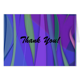 Pacific Breezes Thank You Card